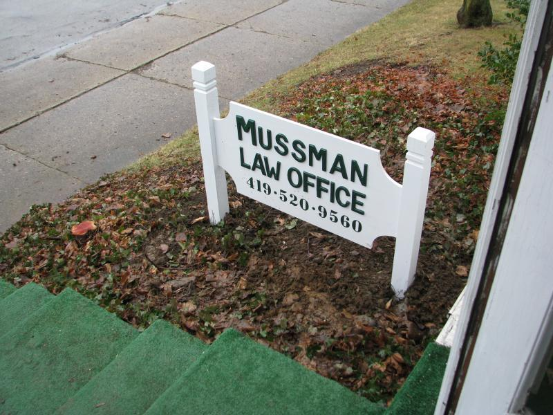 Mussman Law Office (419) 520-9560
